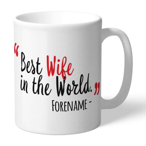 Watford FC Best Wife In The World Mug