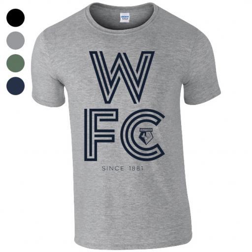 Watford FC Stripe T-Shirt
