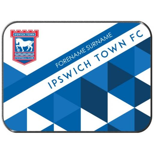 Ipswich Town FC Patterned Rear Car Mat