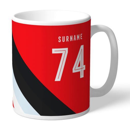Southampton FC Stripe Mug