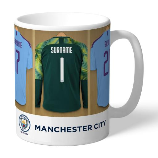 Manchester City FC Goalkeeper Dressing Room Mug