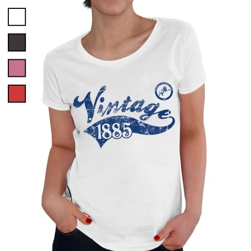 Millwall FC Ladies Vintage T-Shirt