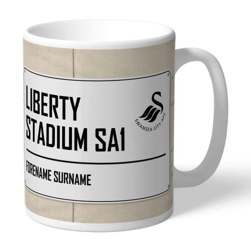Swansea City AFC Street Sign Mug