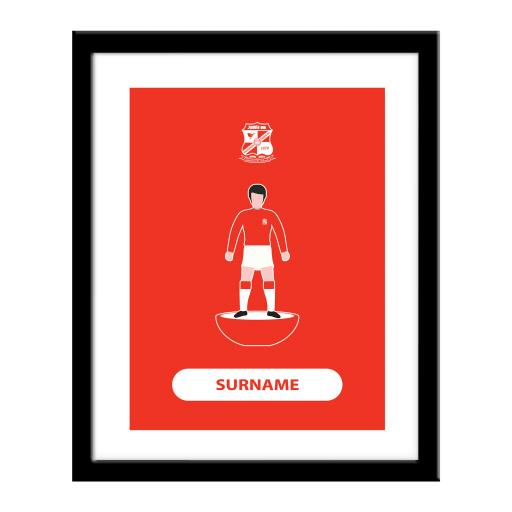 Swindon Town Player Figure Print