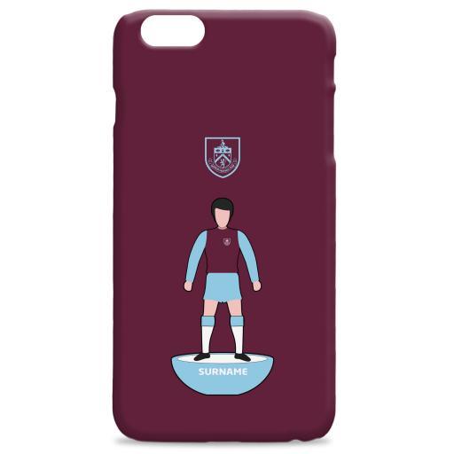 Burnley FC Player Figure Hard Back Phone Case