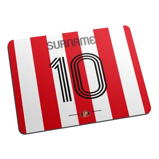 Sunderland AFC Retro Shirt Mouse Mat