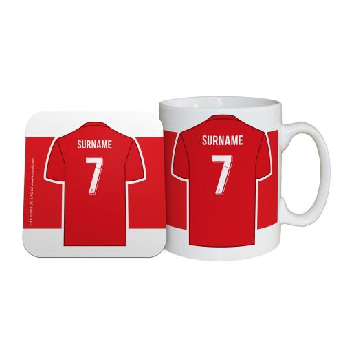 Liverpool FC Shirt Mug & Coaster Set