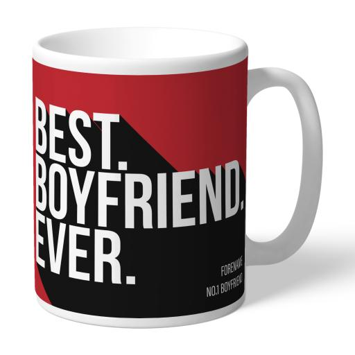 Personalised Middlesbrough Best Boyfriend Ever Mug.