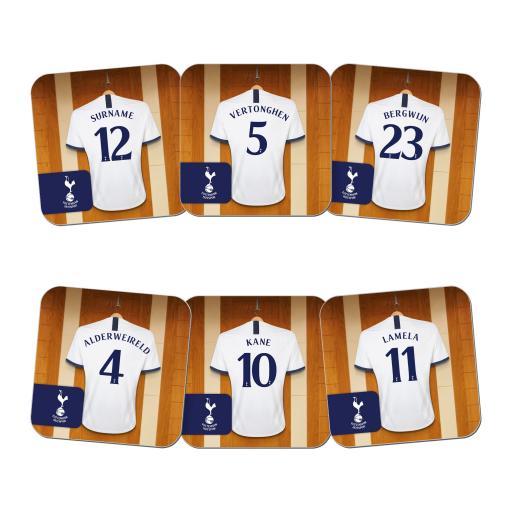 Tottenham Hotspur Dressing Room Coasters
