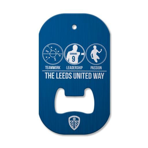 Leeds United FC Way Compact Bottle Opener