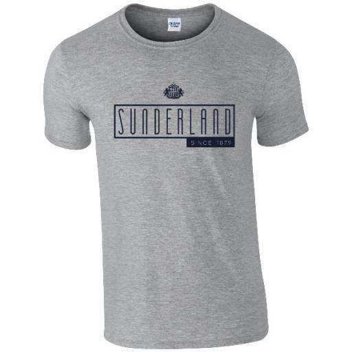 Sunderland AFC Art Deco T-Shirt
