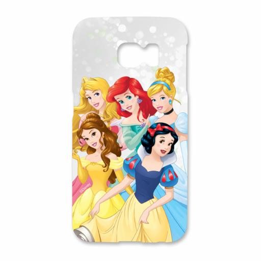 Disney Princess Group Scene Samsung Galaxy S6 Edge Phone Case