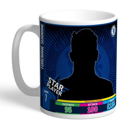 Chelsea FC Trading Card Mug