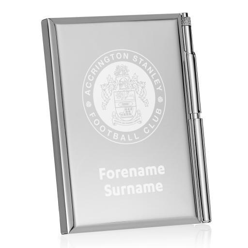 Accrington Stanley Crest Address Book