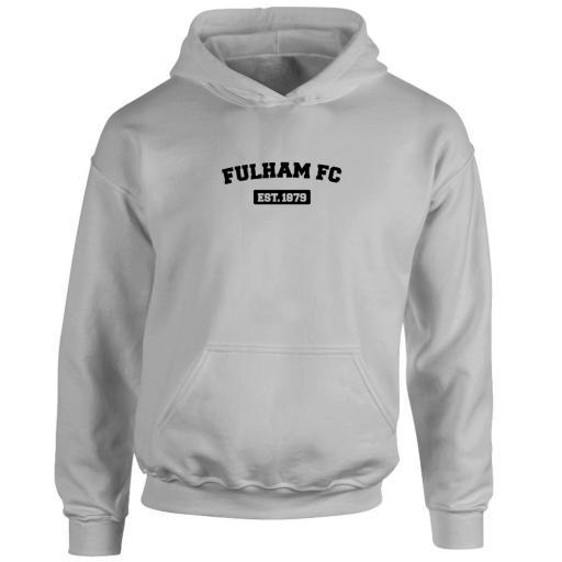 Personalised Fulham FC Varsity Established Hoodie.