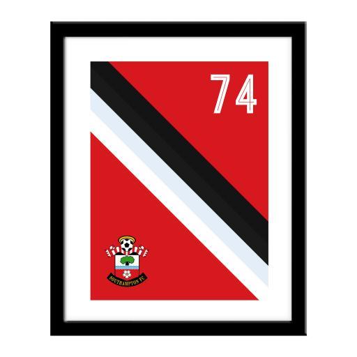 Southampton FC Stripe Print