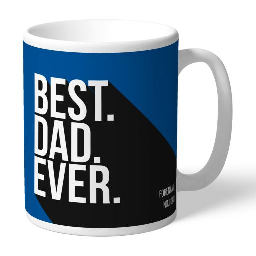 Personalised Birmingham City Best Dad Ever Mug.