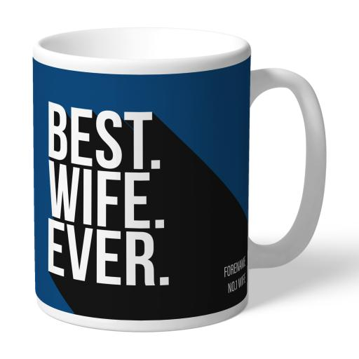 Cardiff City Best Wife Ever Mug
