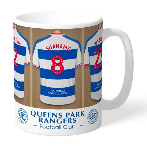 Queens Park Rangers FC Dressing Room Mug