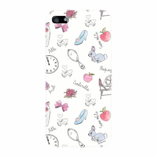 Disney Princess 'Accessories' iPhone 5 /5S / 5SE Clip Case
