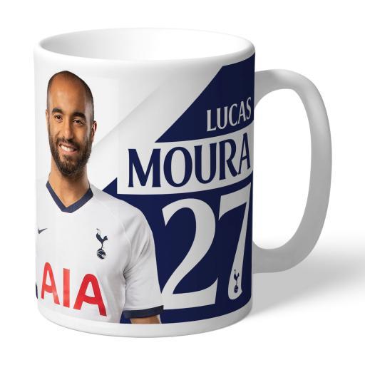 Tottenham Hotspur Moura Autograph Mug