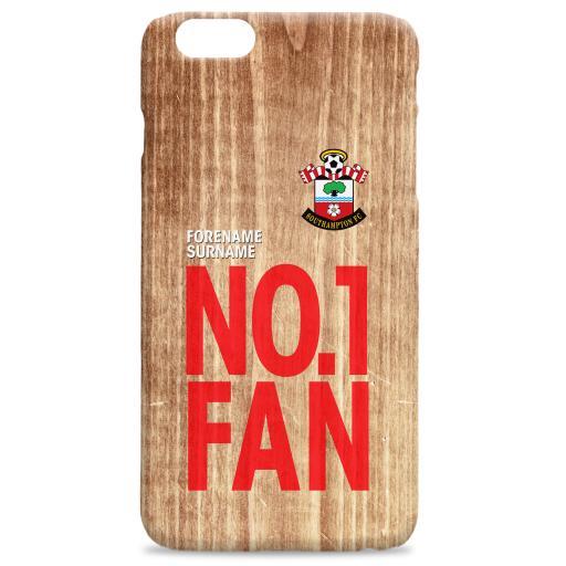 Southampton FC No 1 Fan Hard Back Phone Case