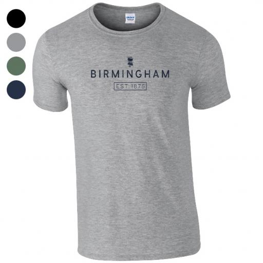 Birmingham City FC Minimal T-Shirt