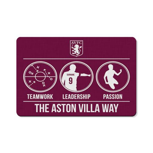 Aston Villa FC Way Floor Mat