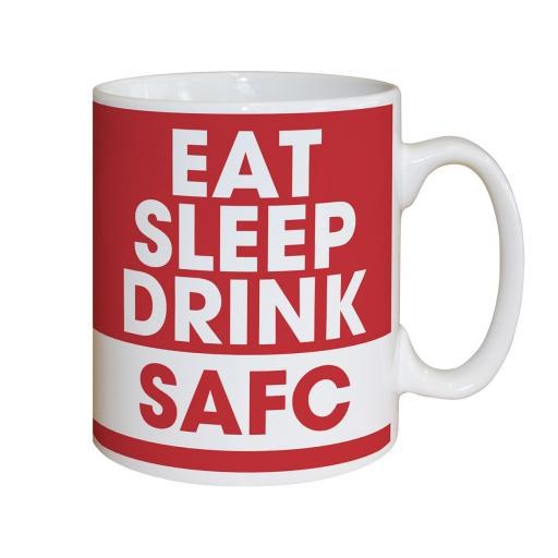 Sunderland AFC Eat Sleep Drink Mug