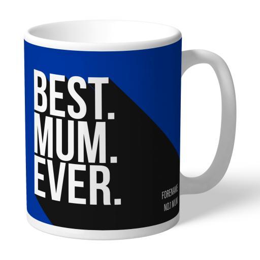 Personalised Brighton and Hove Albion Best Mum Ever Mug.