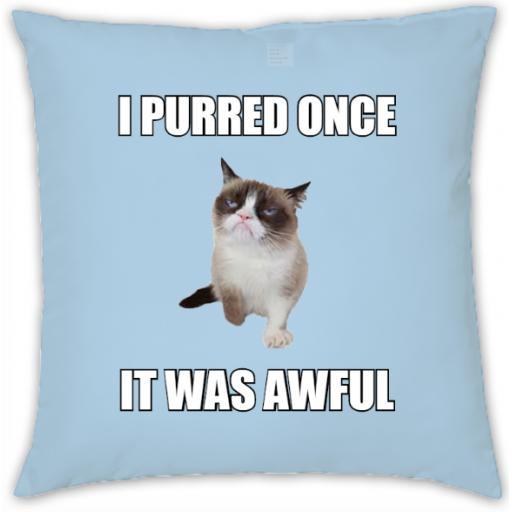 Grumpy Cat Meme Cushion