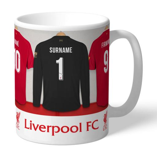 Liverpool FC Goalkeeper Dressing Room Mug