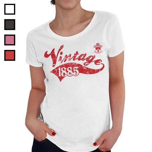 Southampton FC Ladies Vintage T-Shirt