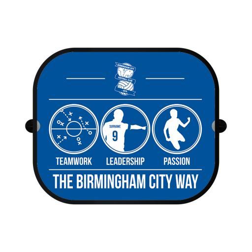Birmingham City FC Way Car Sunshade