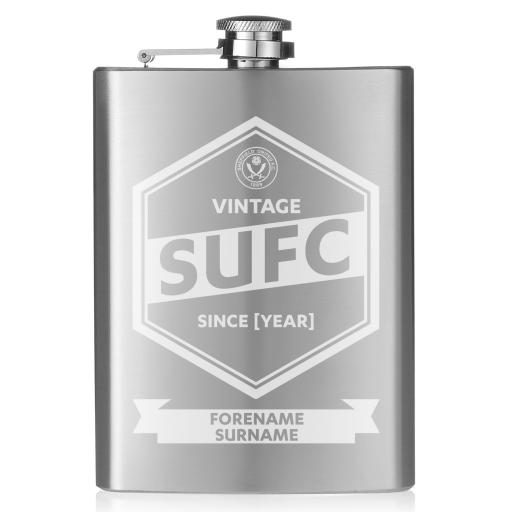 Sheffield United FC Vintage Hip Flask