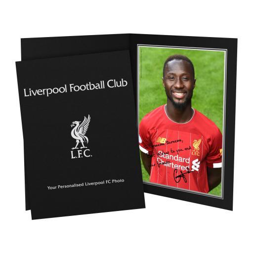 Liverpool FC Keita Autograph Photo Folder