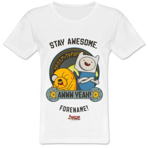 Adventure Time Stay Awesome Women's T-shirt