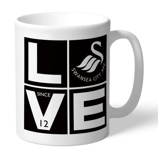 Swansea City AFC Love Mug