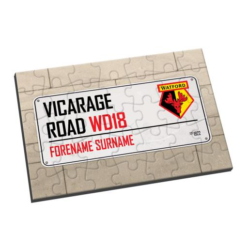 Watford FC Street Sign Jigsaw