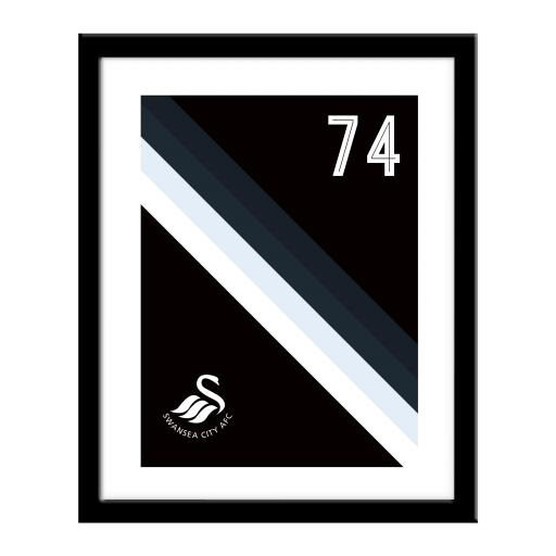 Swansea City AFC Stripe Print
