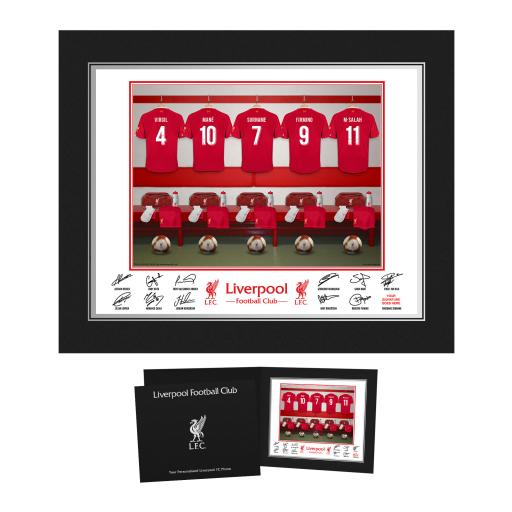Liverpool FC Dressing Room Photo Folder