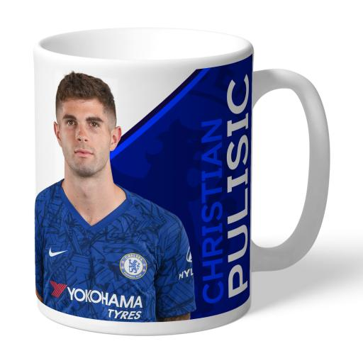 Chelsea FC Pulisic Autograph Mug