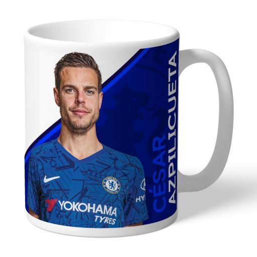 Chelsea FC Azpilicueta Autograph Mug