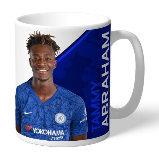 Chelsea FC Abraham Autograph Mug