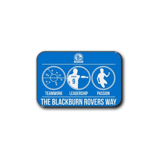 Personalised Blackburn Rovers FC Way Rear Car Mat.
