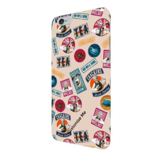 Aardman Wallace And Gromit Print iPhone 6+/6s+ Clip Case