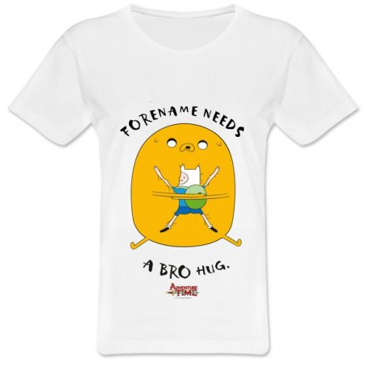 Adventure Time Bro Hug Womens T-shirt