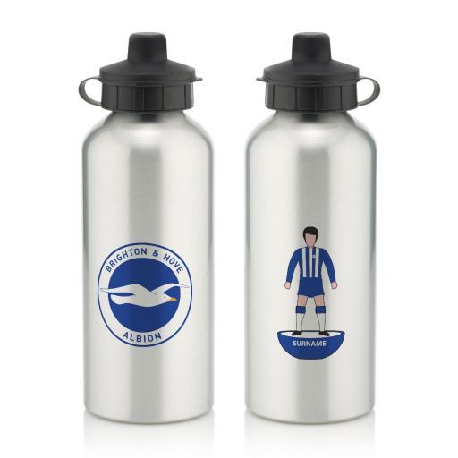 Brighton & Hove Albion FC Player Figure Water Bottle