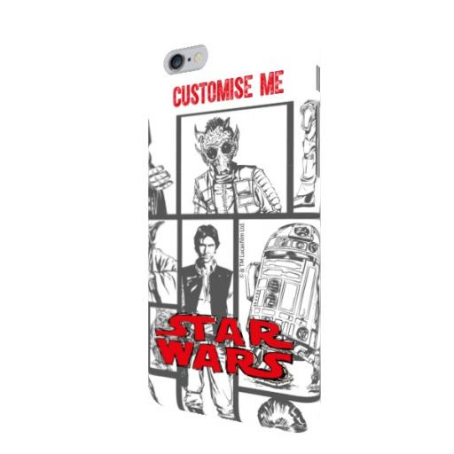 Star Wars Classic Grid Print iPhone 6/6s Clip Case