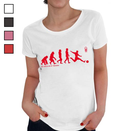 Nottingham Forest FC Evolution Ladies T-Shirt